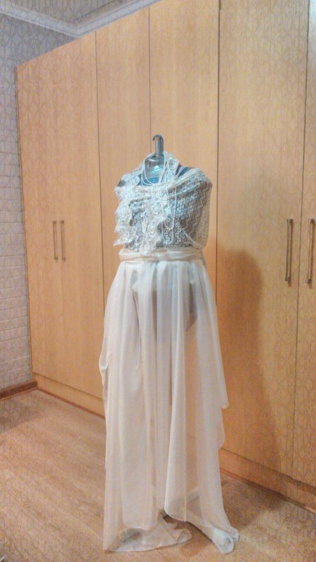 dress form drape